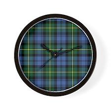 Tartan - Gordon Wall Clock