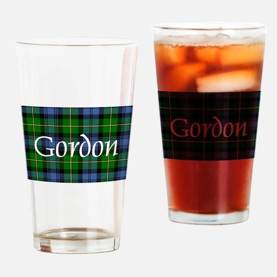 Tartan - Gordon Drinking Glass