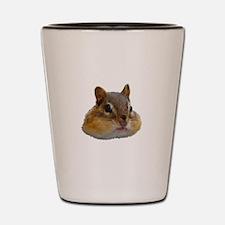 Cute Chipmunk Shot Glass