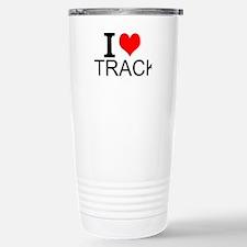 I Love Track Travel Mug