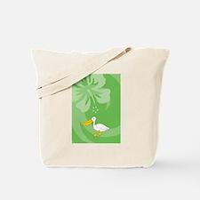 Unique Pelican beach resort Tote Bag
