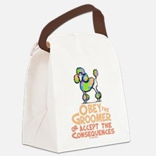 Obey The Groomer Canvas Lunch Bag
