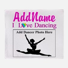 DANCING PHOTO Throw Blanket