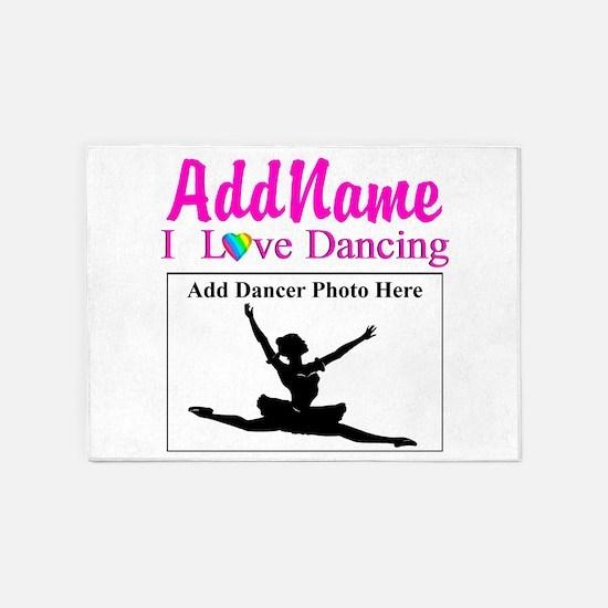 DANCING PHOTO 5'x7'Area Rug