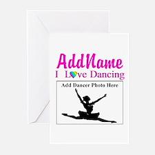 DANCING PHOTO Greeting Cards (Pk of 20)