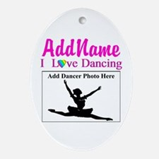 DANCING PHOTO Ornament (Oval)