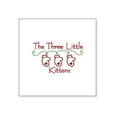 Three Little Kittens Sticker