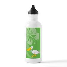 Funny Pelican boat Water Bottle