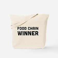 Food chain winner Tote Bag