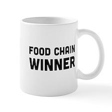 Food chain winner Mugs