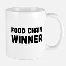 Food chain winner Mugs