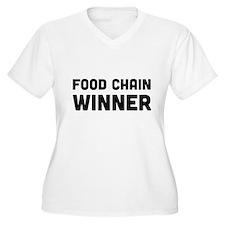 Food chain winner Plus Size T-Shirt