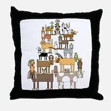 Cute Ferret design Throw Pillow