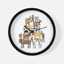 Cute Show business Wall Clock