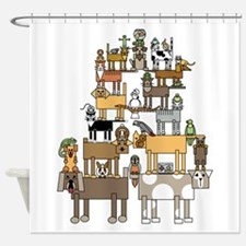 Cute Talented Shower Curtain
