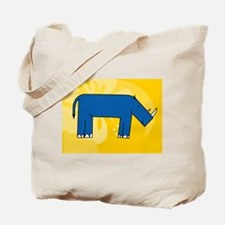 Cool Wave hound Tote Bag