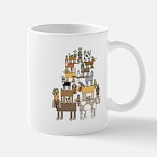 Acrobatic Pets Mugs