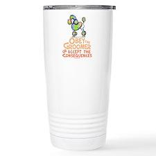 Obey The Groomer Travel Mug