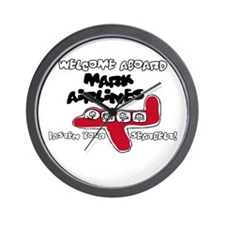 Mark Airlines Wall Clock