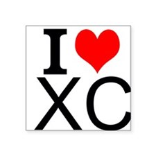 I Love Cross Country Sticker