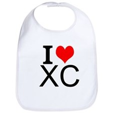 I Love Cross Country Bib