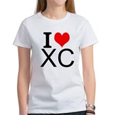 I Love Cross Country T-Shirt
