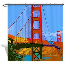 Cute San francisco california Shower Curtain