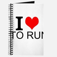 I Love To Run Journal