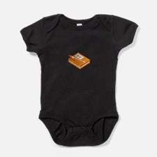 Chinese Character Books Pencil Baby Bodysuit
