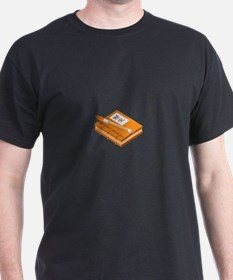 Chinese Character Books Pencil T-Shirt