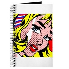Popart Girl Journal