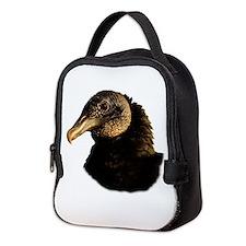 Unique Blues vultures Neoprene Lunch Bag