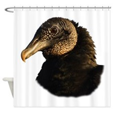 Funny Blues vultures Shower Curtain