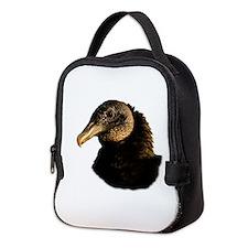 Cute Blues vultures Neoprene Lunch Bag