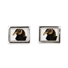 Cute Blues vultures Rectangular Cufflinks