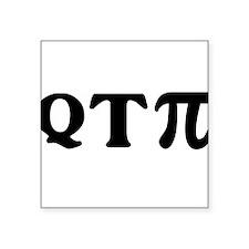 Math Q-T-Pi Sticker