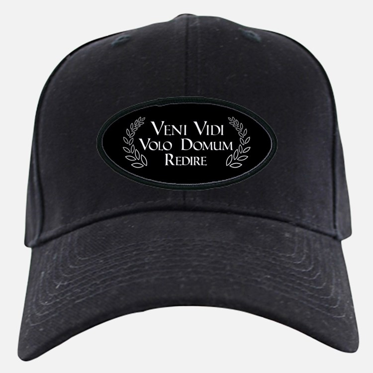 I Want to Go Home Baseball Hat (Latin only)