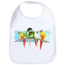 Cute Green cheek conure Bib