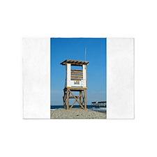 Lifeguard Stand 5'x7'Area Rug