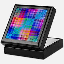 Rainbow Quilt Keepsake Box