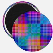 Rainbow Quilt Magnet