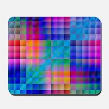 Rainbow Quilt Mousepad