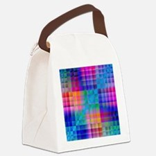 Rainbow Quilt Canvas Lunch Bag