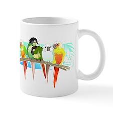 Green Cheek Conures Mugs