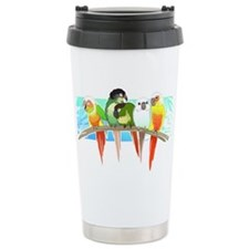 Unique Green cheek conure Travel Mug