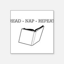Read, nap, repeat Sticker