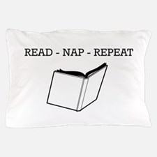 Read, nap, repeat Pillow Case