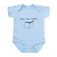 Read, nap, repeat Body Suit