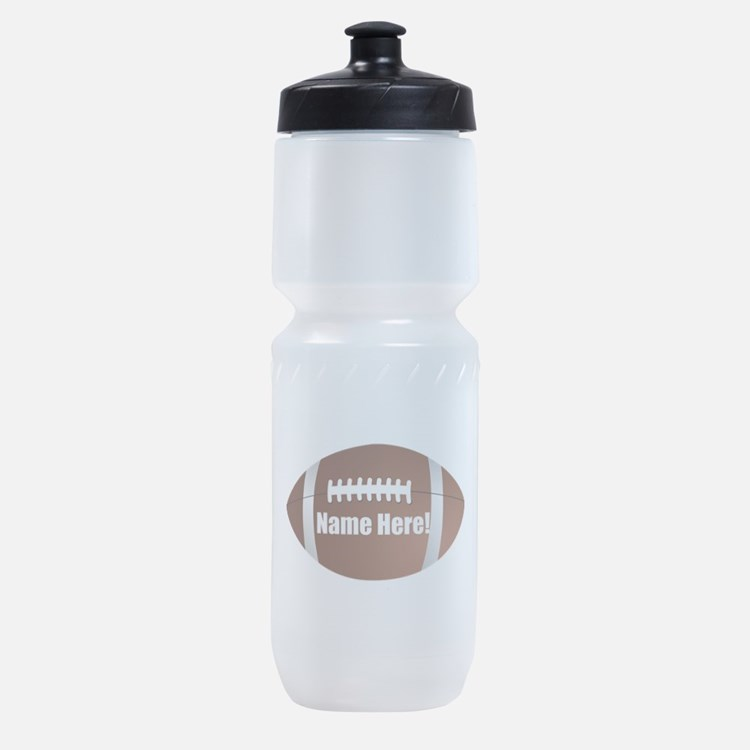Personalized Football Sports Bottle