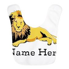 Personalized Lion Bib